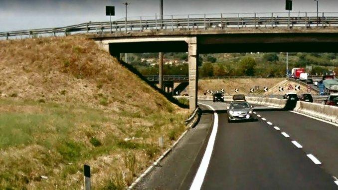 """Riecco il cantiere sulla E45 lavori sotto al """"rondò"""" di Ponte San Giovanni"""