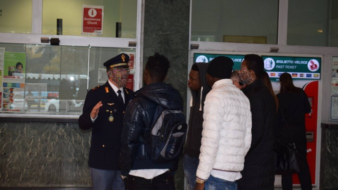 Polfer Perugia Foligno, 500 pattuglie identificano più di duemila persone