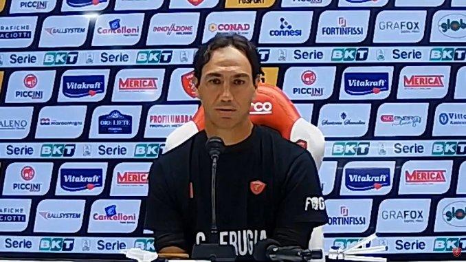 Perugia Calcio, Nesta, lavoriamo per meritare fiducia