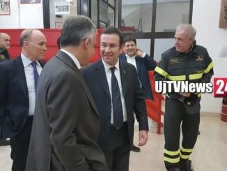 Sottosegretario Stefano Candiani in visita a Fontivegge con il comitato