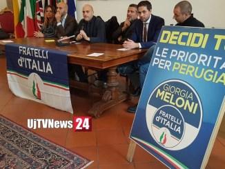 Elezioni, Fratelli d'Italia a fianco del candidato sindaco Romizi