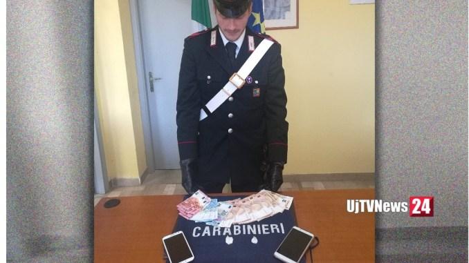 Arriva in Italia e si mette a spacciare, giovane pusher arrestato dai Carabinieri