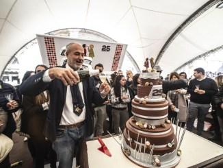 Eurochocolate ha 25 anni festa grande in Piazza IV novembre