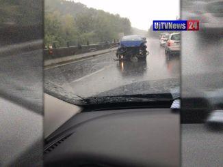 Raffica di incidenti a causa della pioggia, un altro sulla E45 a Deruta