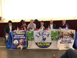 La campagna elettorale della Lega Perugia parte da Ponte Felcino