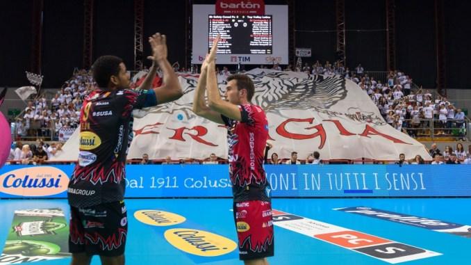 Volley, Big Mach al PalaBarton, domenica c'è Perugia Trento