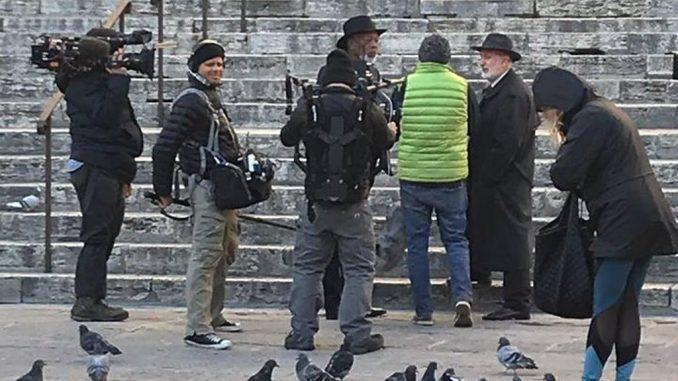 Morgan Freeman a Perugia, l'attore statunitense in città per documentario di National Geographic