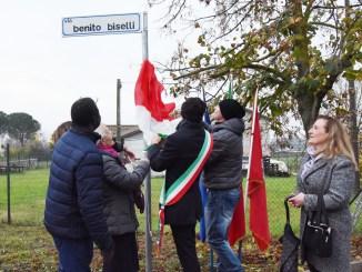 Inaugurata a Mugnano la via intitolata a Benito Biselli