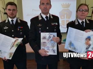 Calendario dell'Arma dei Carabinieri, presentato oggi anche a Perugia FOTO