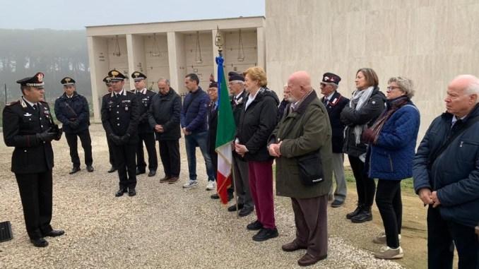 Perugia 14 novembre 2018 ricordo del Carabiniere Angelo Foccià
