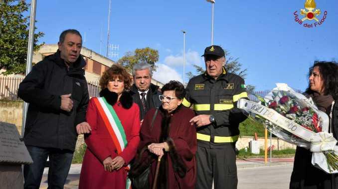 Perugia, ricordo del vigile del fuoco volontario Gianluca Pennetti Pennella