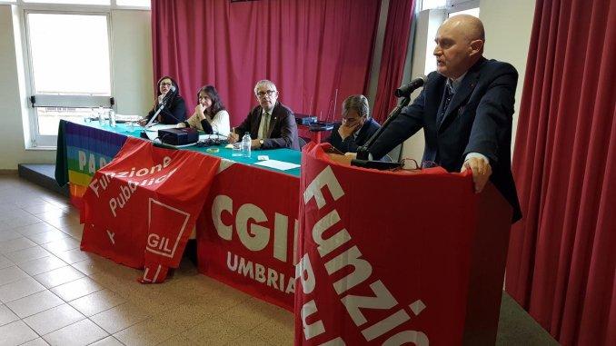Congresso Fp Cgil Umbria, Fabrizio Fratini rieletto segretario generale