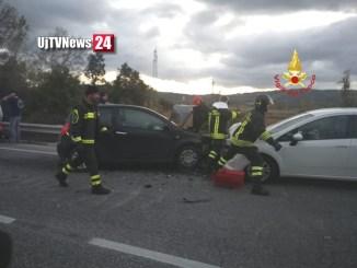 Incidente stradale a Gubbio, il ferito trasportato all'ospedale di Branca