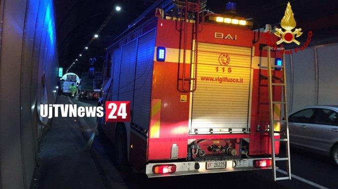 Incidenti stradali lungo il raccordo autostradale Perugia Bettolle