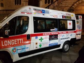 Inaugurato il nuovo pulmino per il trasporto disabili della Croce Rossa Italiana
