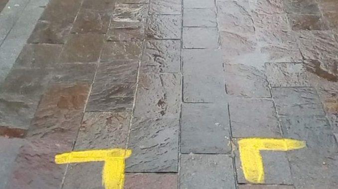Scritte in strada a Terni, Michele Rossi, perché imbrattare?