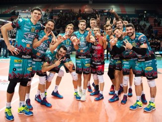 Sir Safety Conad Perugia volley batte BCC Castellana Grotte, 0 a 3 a Bari [Foto]