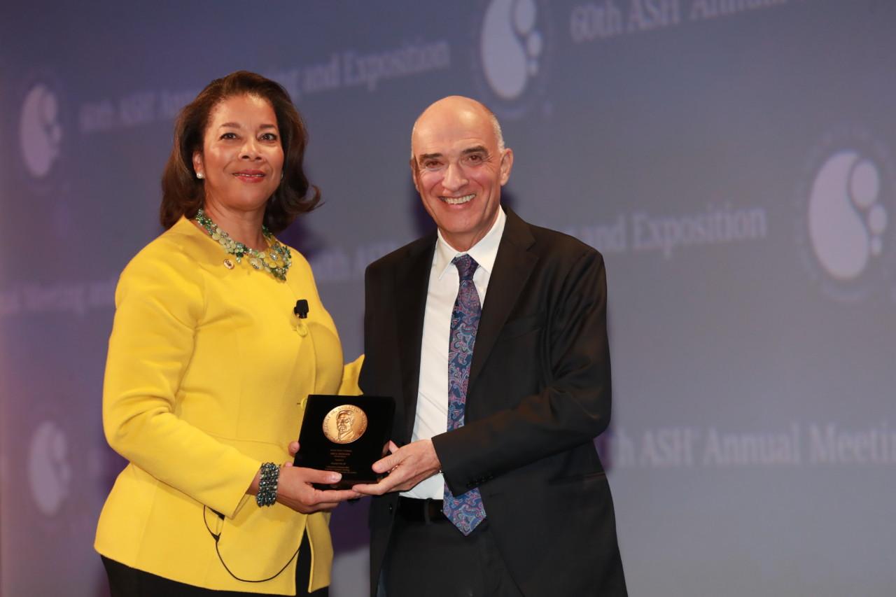 Consegnata al Professore Brunangelo Falini la Herny Stratton Medal
