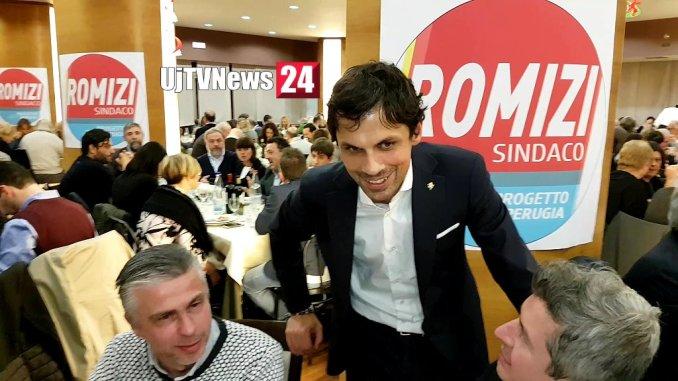 Il sindaco Andrea Romizi si candida alle prossime amministrative