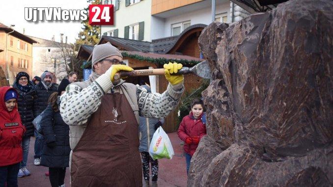 Eurochocolate Christmas in Trentino Cibo degli Dei tra neve e cioccolato