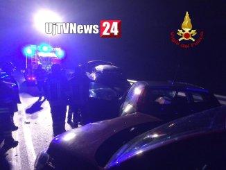 Pauroso incidente stradale sulla Somma a Molinaccio, tra Spoleto Terni, ci sono feriti