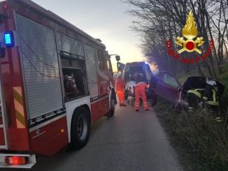 Incidente stradale nei pressi di Deruta, un ferito