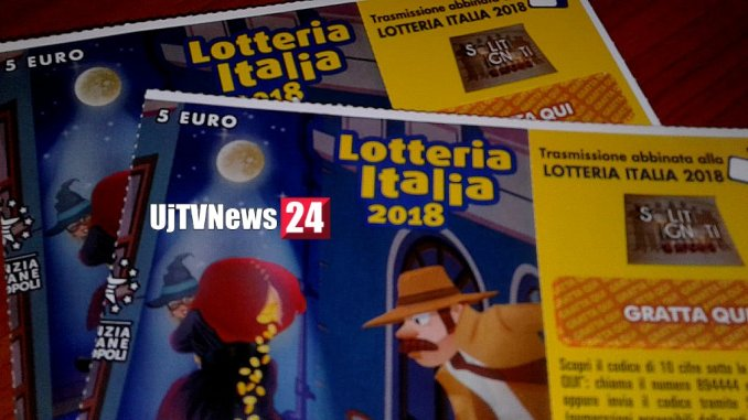Lotteria Italia, uno dei primi cinque biglietti estratti venduto a Fabro