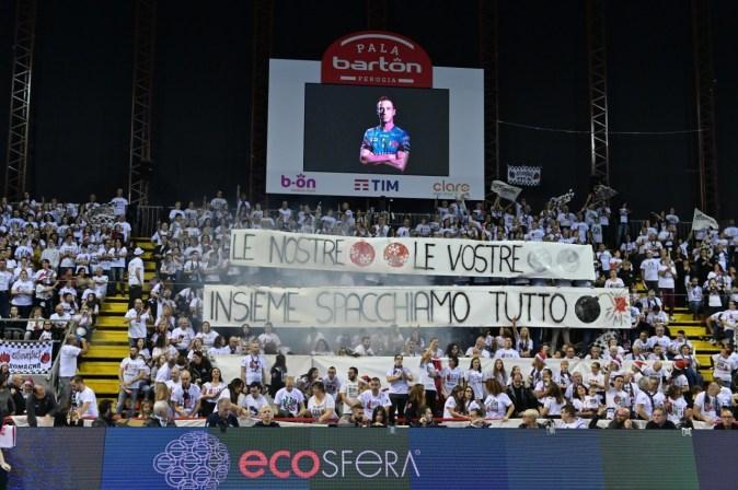 Sir Safety Conad volley Perugia batte Milano 3500 Sirmaniaci PalaBarton