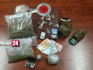 Tre arresti per droga tra Narni Scalo e Giove, operazione dei Carabinieri