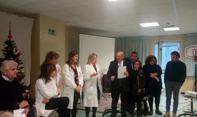 Nuove donazioni alla Unità Spinale di Perugia per migliorare la umanizzazione delle cure