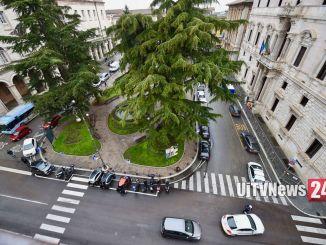 Ministro Salvini Perugia, incontro pubblico, ma Piazza Italia chiusa ai veicoli