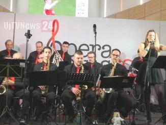 Chiara Jobina Pettirossi e la Trasimeno Big Band all'Opera music festival