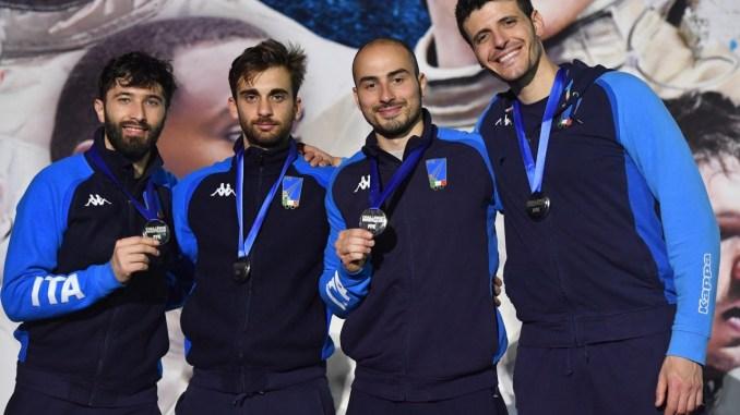 Fioretto maschile, l'Italia del ternano Alessio Foconi è al secondo posto