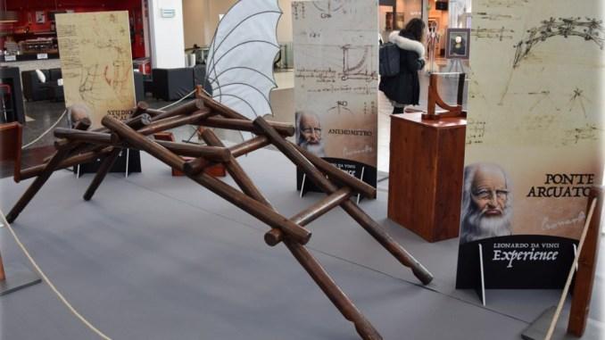 Un tuffo nella storia con Leonardo da Vinci Experience al Quasar Village