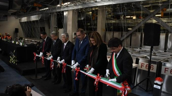 Presidente Marini interviene a cerimonia avvio nuovo impianto Alcantara