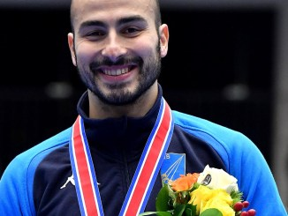 Coppa del mondo fioretto maschile Alessio Foconi terzo posto a Tokyo
