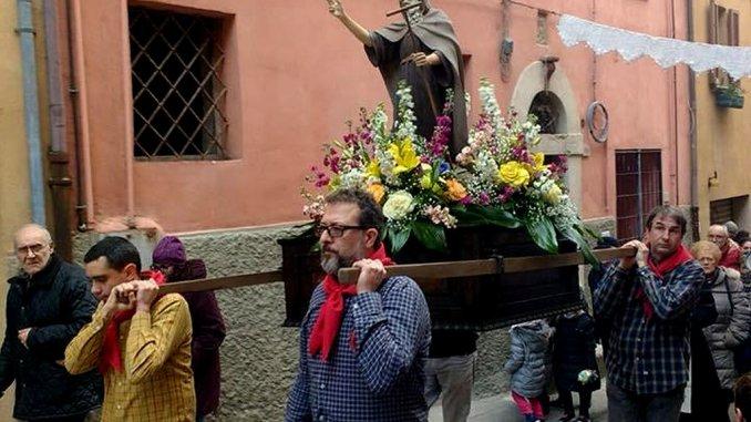 Corso Bersaglieri, domenica è in festa per Sant'Antonio Abate