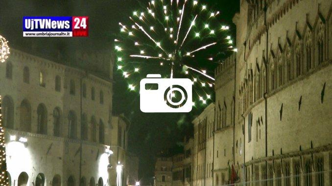Buon 2019 le foto della notte dei festeggiamenti a Perugia