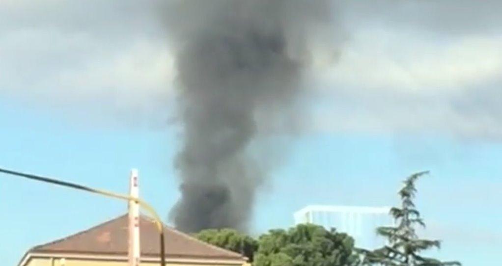 Nuovo incendio all'Ast di Terni, brucia un serbatoio