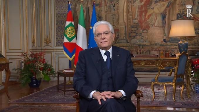 Discorso fine anno Mattarella, parole anche ai terremotati d'Italia