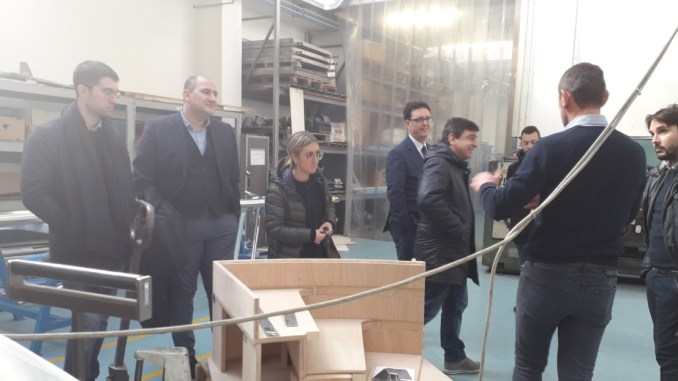 Realtà produttive Narnesi-Amerine, visita Nicola Danti e Grimani
