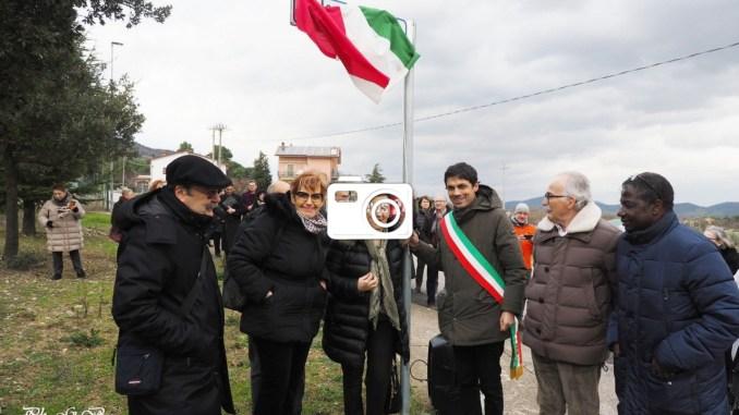 Cerimonia inaugurazione due vie intitolate a Benedetti e Bruschetti