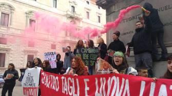 La protesta a Perugia 2