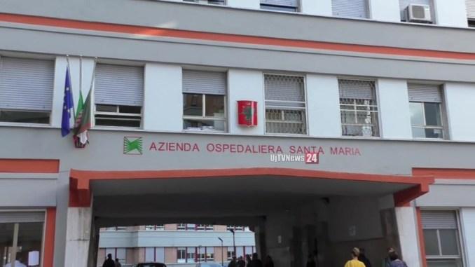 Ospedale di Terni, pasti regolarmente dispensati, in corso accertamenti