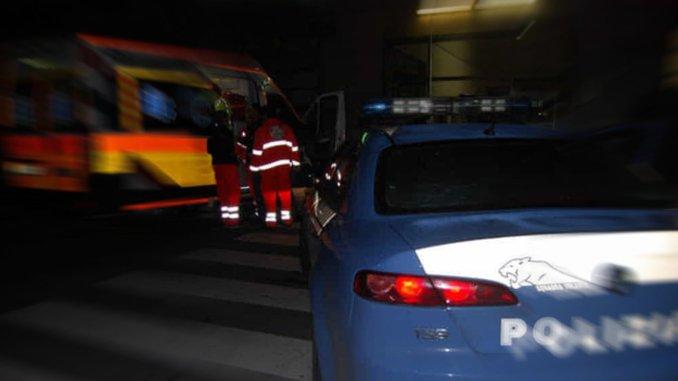 Incidente a Balanzano, auto si ribalta, nessuna persona ferita
