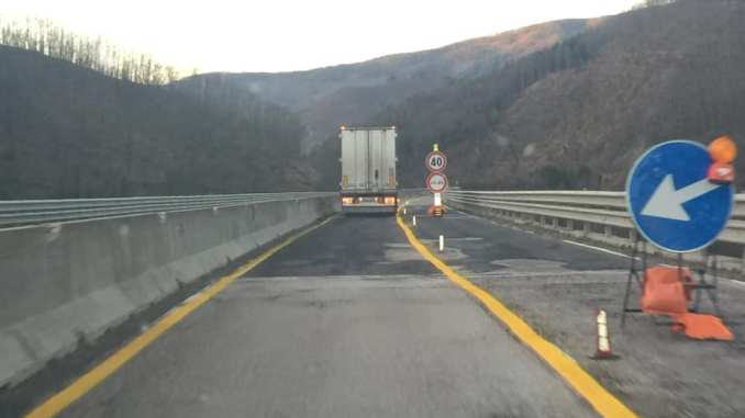 Apre la E45 sul Viadotto Puletto, nessuno controlla e i tir passano