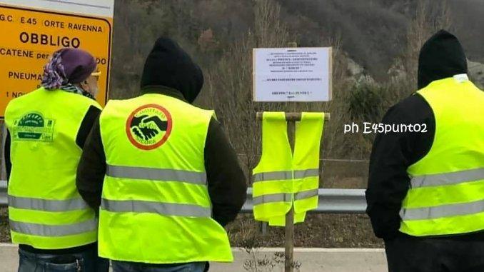 Chiusura viadotto Puleto, oggi presidio Sansepolcro uscita E45