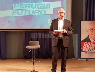 Giuliano Giubilei apre la sua campagna elettorale dal Circolo dipendenti Perugina