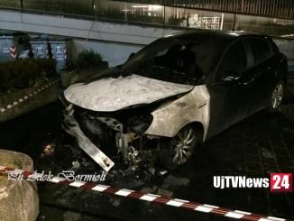 Altra auto incendiata a Fontivegge, stesso posto dell'ultima volta, è giallo