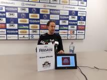 PalaBarton Sir Safety Conad conferenza stampa di Lorenzo Bernardi